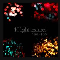 100x100 Light Textures by monstreum