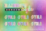 +Rainbow Styles.