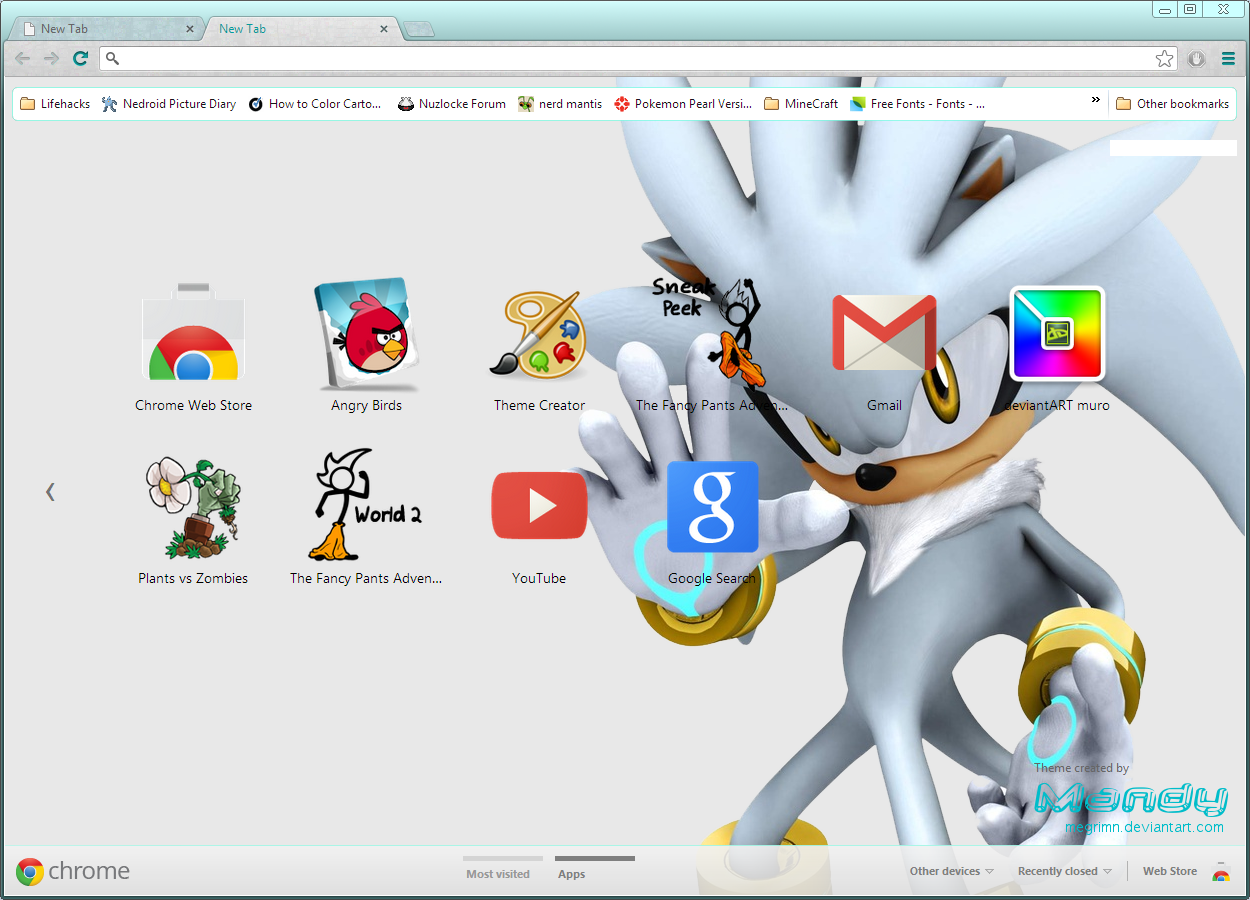 Google chrome themes zelda