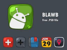 Blawb .PSD by arrioch