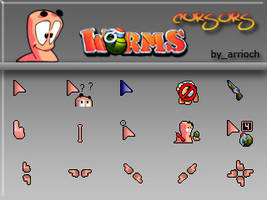 Worms Cursors Full by arrioch