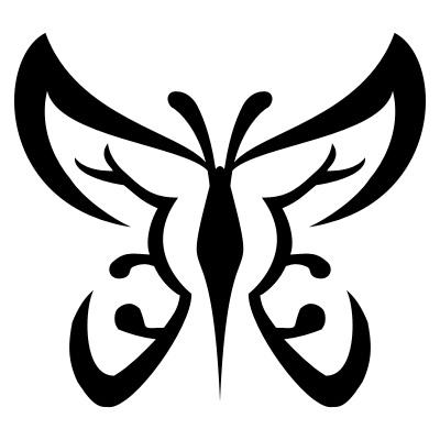 "Tribal Butterfly Tattoo Designs 2 "" Tribal Butterfly Tattoo Designs 2 """
