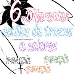 6 Diferent Styles