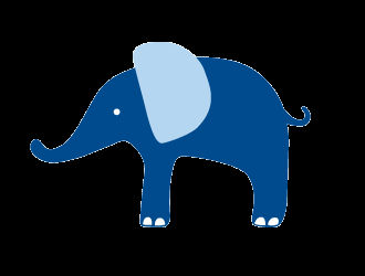 Florence The Blue Elephant