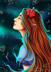The nature of dreams - Legend of Zelda LA by AuraGoddess