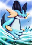 Swampert - 500 watchers celebration - Pokemon by AuraGoddess