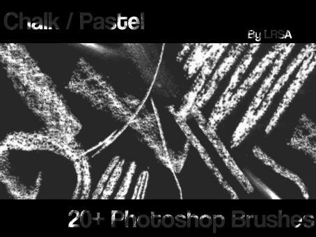 Chalk Pastel Brushes by larissa-marianne