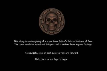 Baldurs gate - Shadows of Amn: Imoen's kidnapping. by Bloodrawen