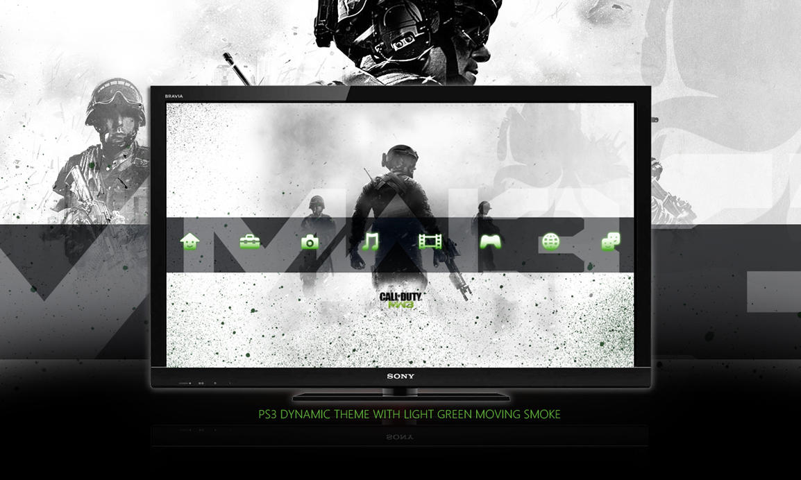 Call Of Duty : MW3 PS3 Dynamic Theme by DesignsByTopher