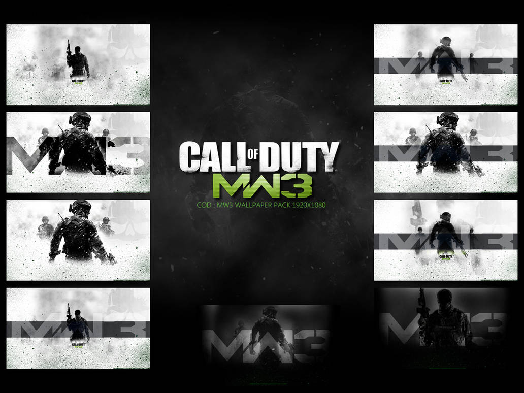 Call Of Duty Mw3 Wallpaper Pack By Designsbytopher On Deviantart