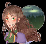 Lyra Falin [D and D Commission][Animation] by Deneco
