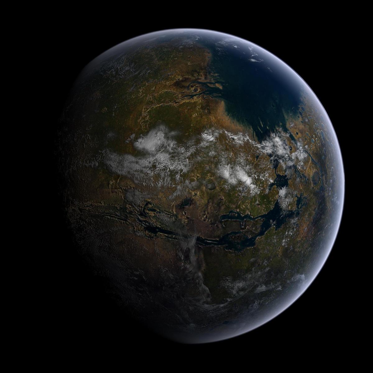 Mars - just add water by hoevelkamp