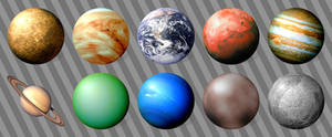 Planetary Icons for Windows