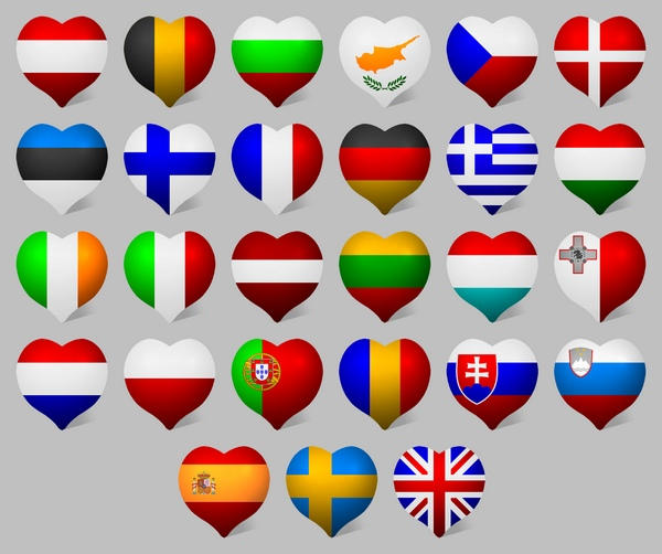 EU Patriot Icons for Vista by JollyGreenJustin