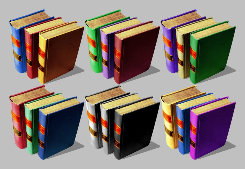 Books Icons for Vista by JollyGreenJustin