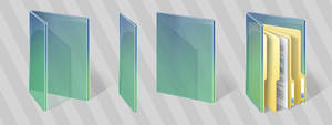 Vista's Green folders for 7, 8 and 10