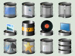 Drum folders Windows 10, 28 icons included