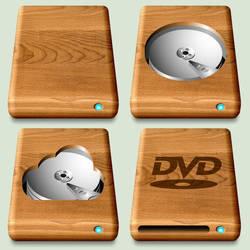Wooden Mac Drives (Better Finish)