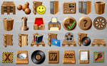 Industrial Wood Icons