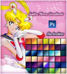 Sailor Moon Gradients by harleshinn