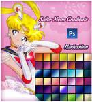 Sailor Moon Gradients