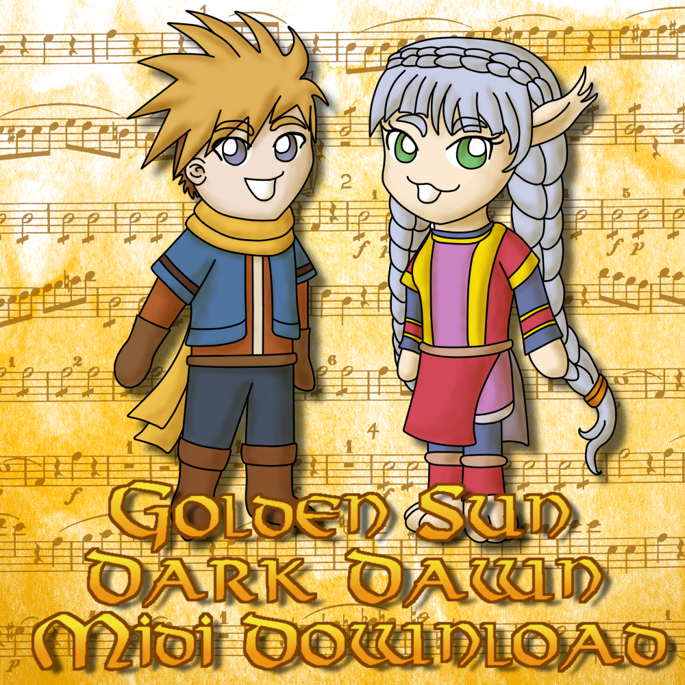 Golden Sun Dark Dawn Midi Download by MelodyCrystel