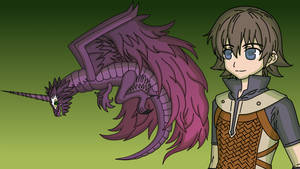 Remix Rune Factory Grimoire Elder Dragon Terrable by MelodyCrystel