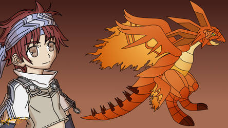 Remix Rune Factory 2 Boss Elder Dragon Fiersome by MelodyCrystel