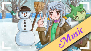 Remix Rune Factory Frontier Winter Snowy Day