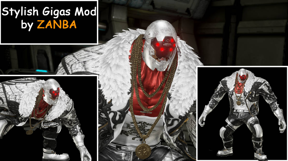 Tekken 7 Marduk S Crocodile Outfit For Gigas By Zanba2 On Deviantart