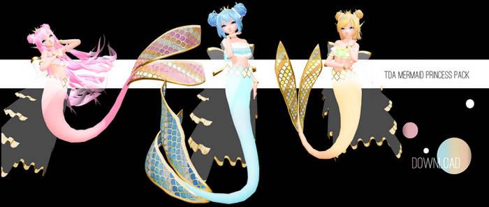 TDA Mermaid Princess Pack - [DL]
