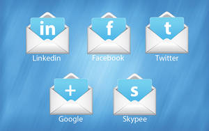 Social Icons by manishpanchal