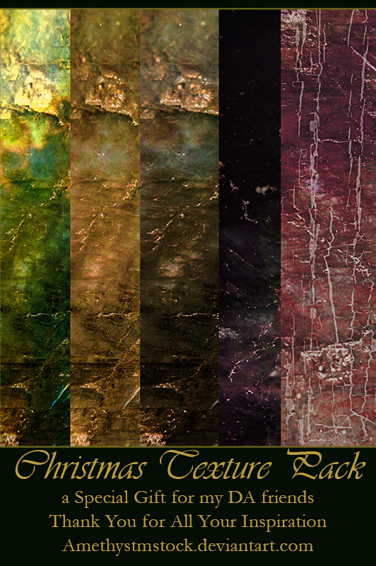 Christmas Texture Pack 2013 by amethystmstock