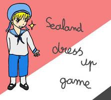 Sealand dress up game by Inunobaka