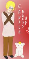 Canada dress up game by Inunobaka