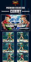 Street Fighter V - Cammy Premium Color by Ztitus