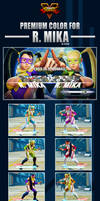Street Fighter V - R. Mika Premium Color by Ztitus