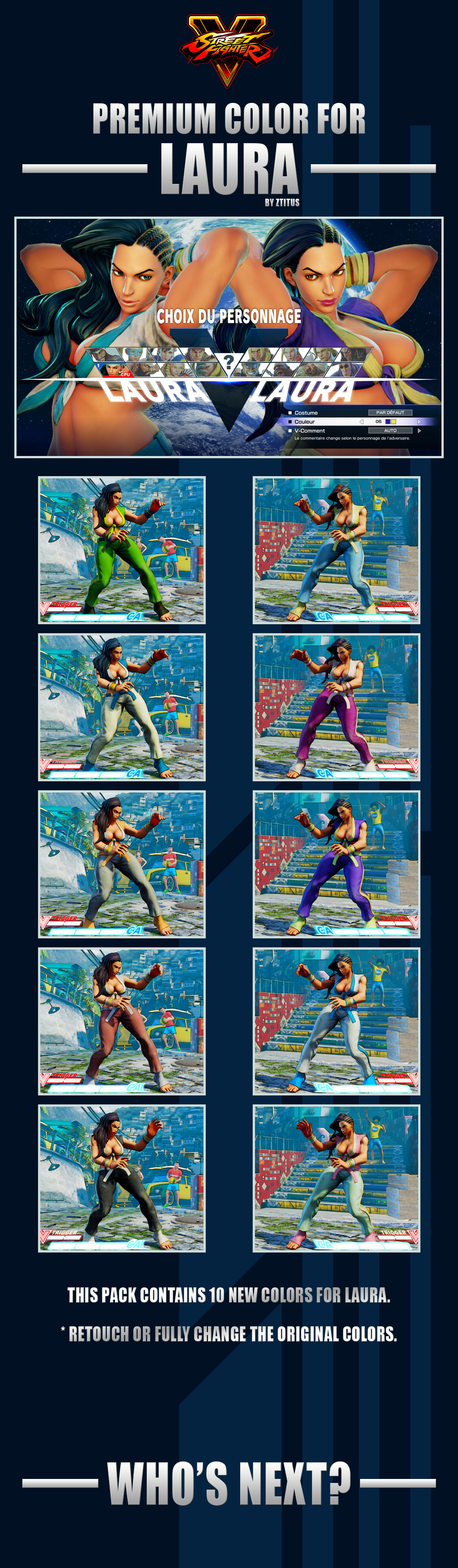 pak Mods (Download) : StreetFighterMods