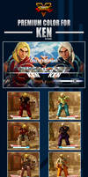 Street Fighter V - Ken Premium Color by Ztitus