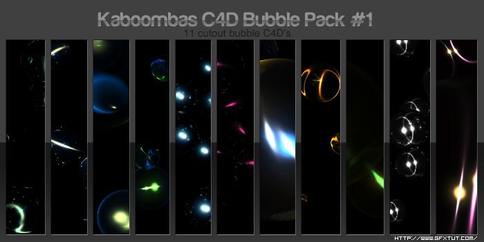 Bubble C4D Pack by Rockanium Bubble_C4D_Pack_by_Rockanium
