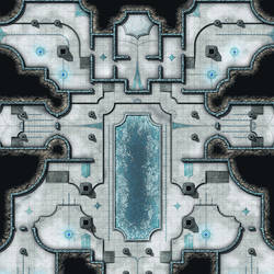 Ice Temple Sample Zoom In by Madcowchef