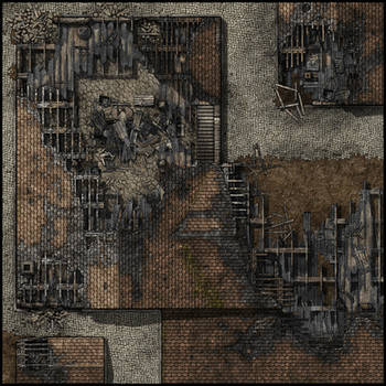 Pillaged City Sample by Madcowchef