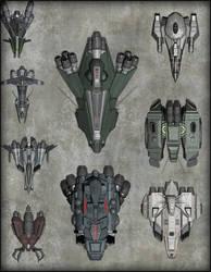 Spaceships 2 GIF