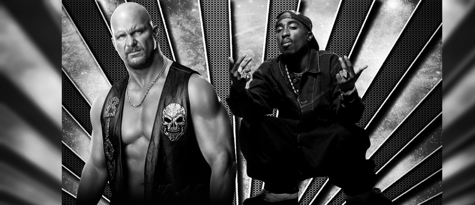Stone Cold Steve Austin And 2Pac By Robertly3