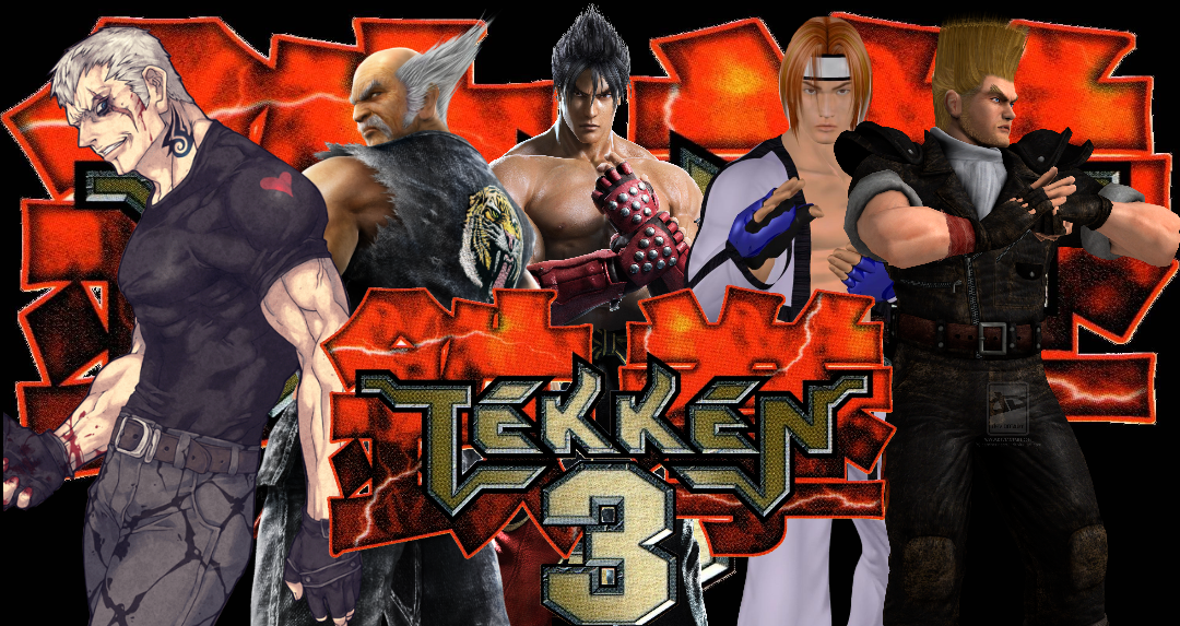 Tekken 3 Jin Hwoarang Paul Heihachi And Bryan Fury By Robertly3 On