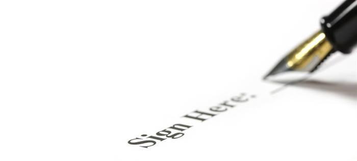 Sign Here - short film script