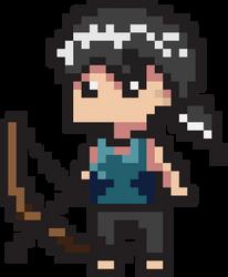 Tomb Raier pixel