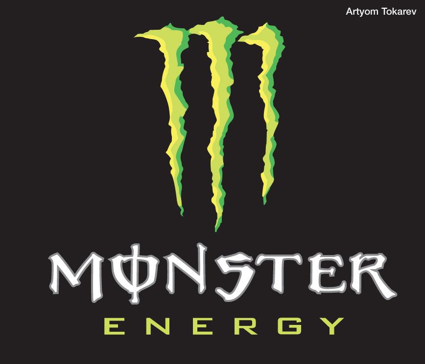 monster energy logo by artishock88 on deviantart rh deviantart com Rockstar Logo Cool Monster Energy Logo