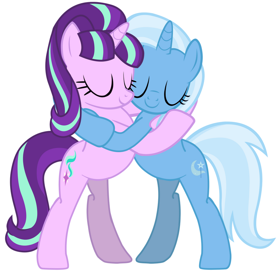 MLP Shipping - Starlight Glimmer and Trixie by RamseyBrony17