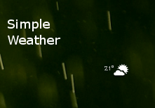 Simple weather by Fugal
